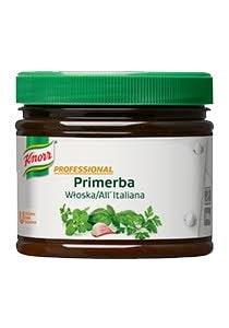 Knorr Primerba Prieskoninė Pasta su Itališkais žalumynais 340 g -