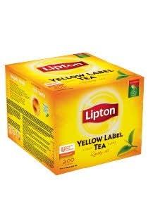 Lipton Yellow Label Melnā tēja 200 -