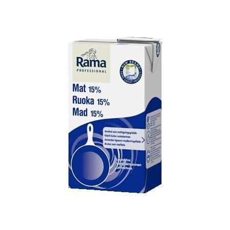 Rama Proffesional Cooking Low Lactose (15%) 1L x 8 (Parduodama tik Estijoje) -